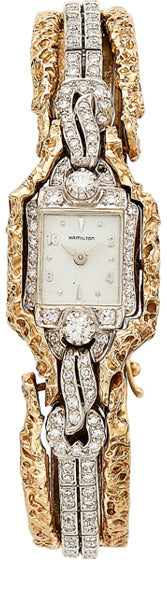 Hamilton Lady's Diamond, Gold Watch