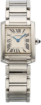 Cartier Lady's Stainless Steel Tank Francaise Watch