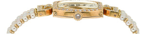 Cartier Lady's Diamond, Cultured Pearl, Gold Watch, French