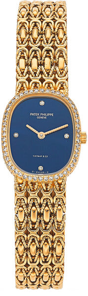Patek Philippe Lady's Diamond, Gold Watch, retailed by Tiffany & Co