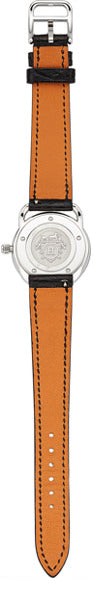 Hermes Lady's Diamond, Mother-of-Pearl, Stainless Steel Arceau TPM Watch