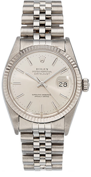 Rolex Gentleman's Stainless Steel DateJust Watch, circa 1988