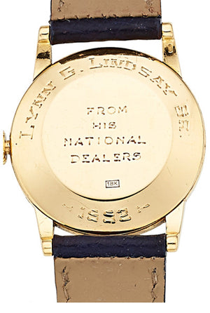 Gentleman's Patek Philippe Gold Watch