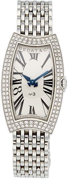 Bedat Lady's Diamond, Stainless Steel No. 3 Watch