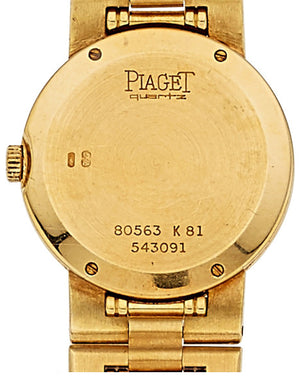 Piaget Lady's Gold Watch