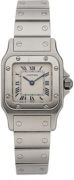 Cartier Lady's Stainless Steel Santos Watch