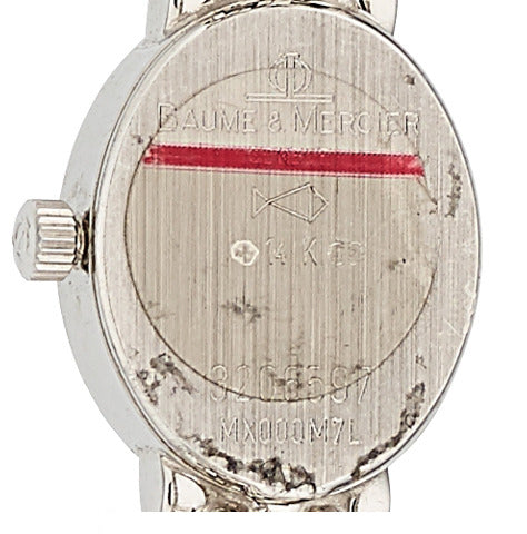 Baume & Mercier Lady's Diamond, White Gold Watch