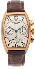 Franck Muller Gentleman's Chronograph Gold Watch