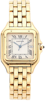 Cartier Unisex Gold Panther Watch