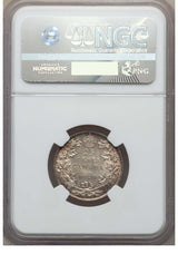 Canada: George V 25 Cents 1920 MS62 NGC