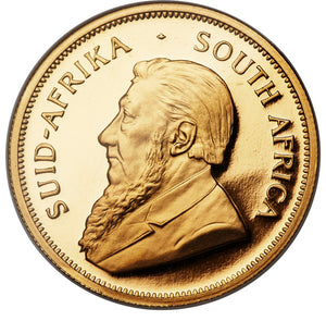 South Africa: Republic gold Proof Krugerrand 1976 PR68 Ultra Cameo NGC