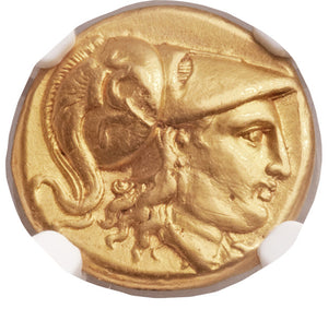 Ancients: MACEDONIAN KINGDOM. Alexander III the Great (336-323 BC). AV stater (18mm, 8.49 gm, 5h)