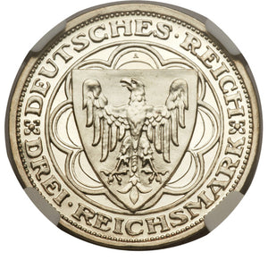 Germany: Weimar Republic 3 Mark 1931A Magdeburg