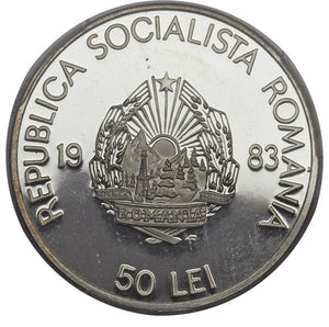 Romania: Republic 50 & 100 Lei 1983