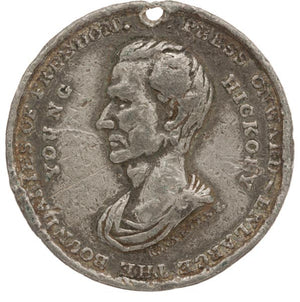 James K. Polk: Large & Rare Campaign Medal
