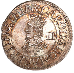 Great Britain: Charles I (1625-49) Briot's Half Groat ND