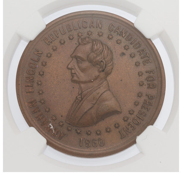 Abraham Lincoln: Popular Split Rails Fence Medal