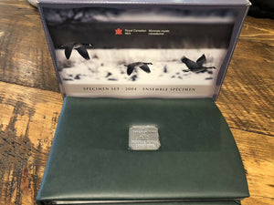 "2004 Canadian 7pcs Specimen Set ""Canadian Goose in Flight"""