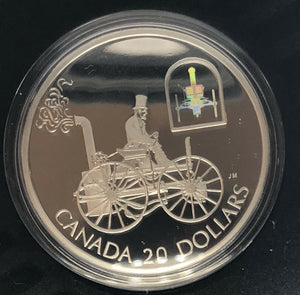 2000 Canada Transportation Series - H.S Taylor Buggy  $20 Silver Coin Hologram