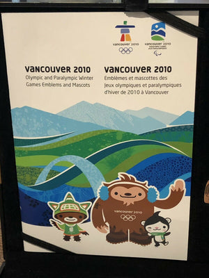 2010 Vancouver Bronze Collector's Coin, Stamp and Pins Set