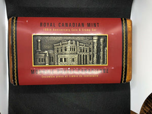 Royal Canadian Mint 100th Anniversary Coin and Stamp Set