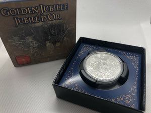 2002 Brilliant Uncirculated Dollar - Golden Jubilee