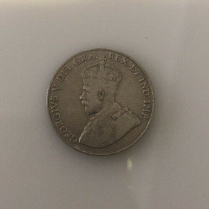 1922 Canadian Nickels Collection - Till 1967 Has 1925 & Near 6. Missing 1926 Far