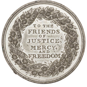 African Americana: Large Anti-Slavery Medal