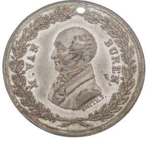 Martin Van Buren: Handsome Medal by Frederick B. Smith