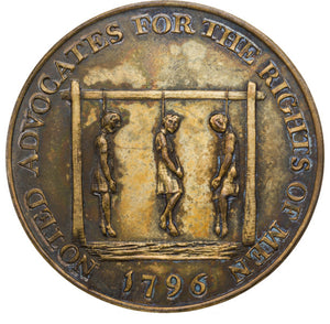 "[John Adams]: Thomas Paine Medal ""Mule"