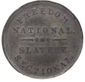 Abraham Lincoln: 1860 Campaign Medal