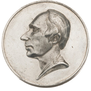 "Henry Clay: High-Relief ""People's Choice"" Factory Medal by Leonard"