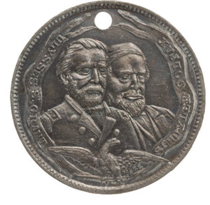 Grant & Colfax and Seymour & Blair: Pair of Scarce Jugate Medals