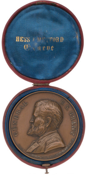 Ulysses S. Grant: High-Relief Medal in Original Retailer's Case