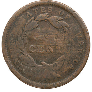 "Martin Van Buren: Free Soil Party ""Vote the Land Free"" Large Cent"