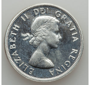 Canada: Elizabeth II Three Prooflike Dollars 1962 1963 1964