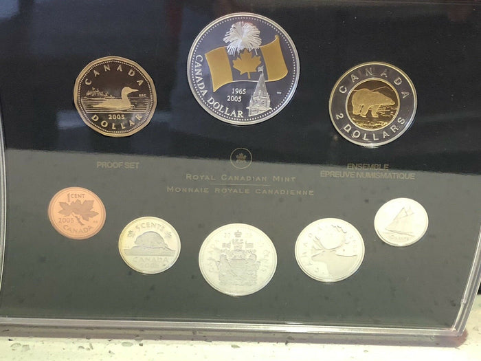 2005 Proof Set Of Canadian Coinage