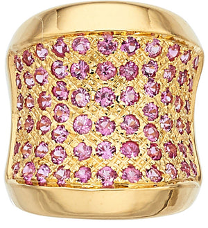 Pink Sapphire, Gold Ring