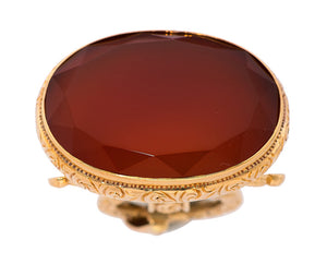 Carnelian, Gold Watch Fob