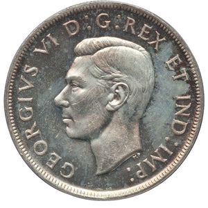 Canada: George VI Dollar 1946 MS64 PCGS
