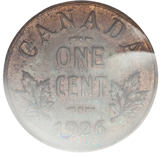 Canada: George V Cent 1926 MS64 Red ICCS