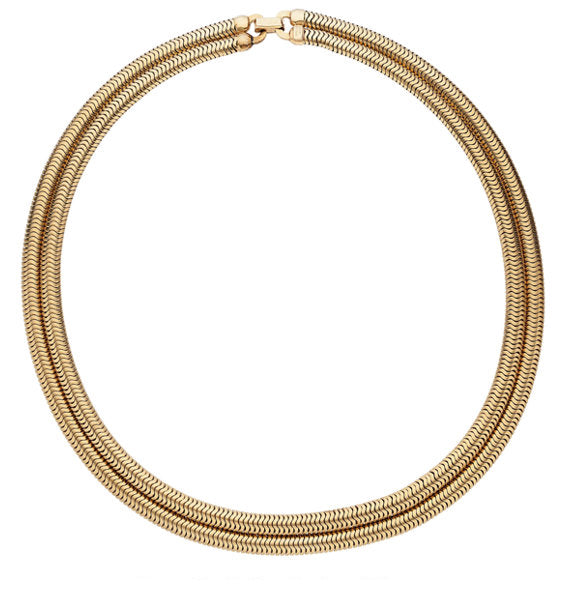 Gold Necklace, Forstner