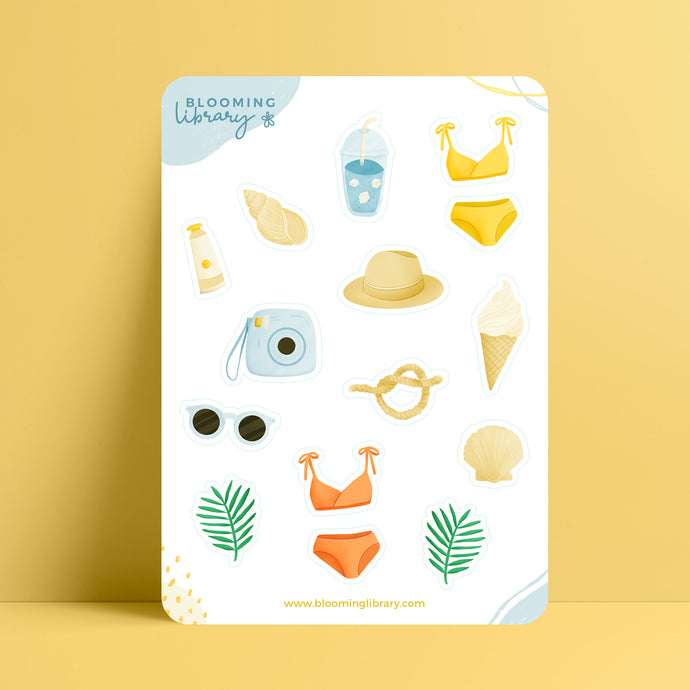 Summertime - Sticker Sheet