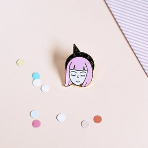 Pin's Violet