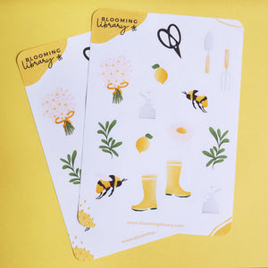 Greenery - Sticker Sheet