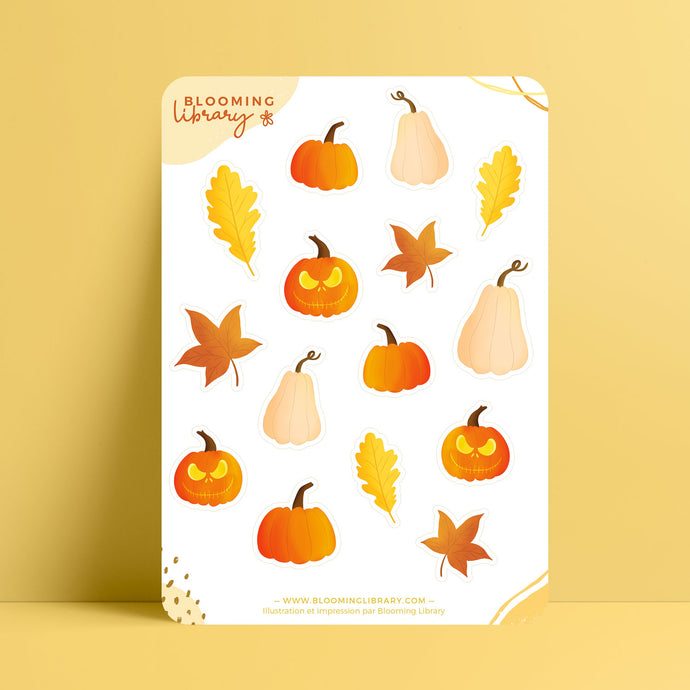 Citrouilles - Sticker Sheet