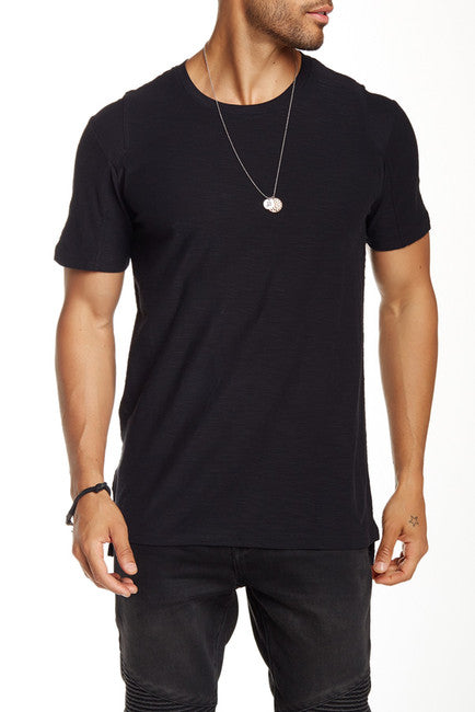 Rogue Rib Detail Short Sleeve Tee