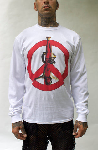 Holy Peace Sign Long Sleeve T-shirt