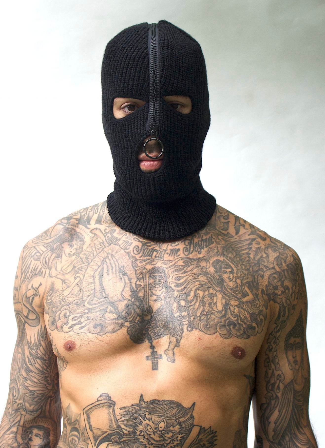 Zipper Ski Mask