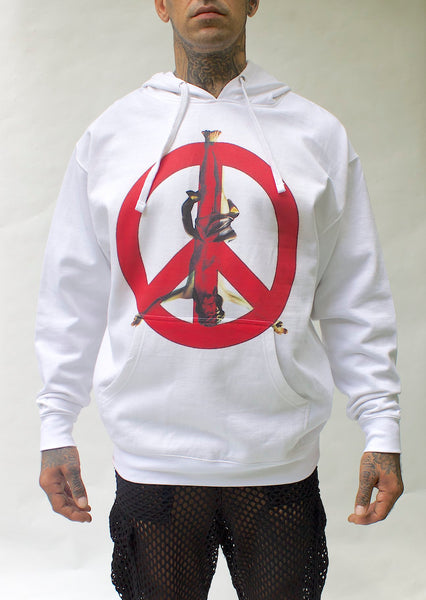 cULTRA Holy Peace Sign Hoodie